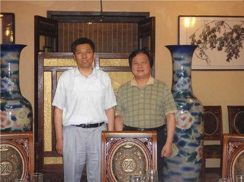 国家商务部外资司正司级巡视员刘作章先生