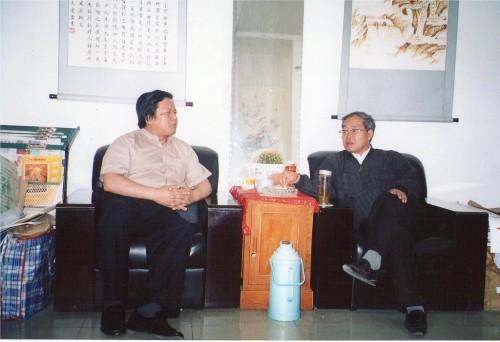 中央党校原组织部部长张虎林