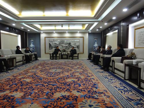 本院主办中国核工业建设集团与四川巴中市资源对接会